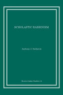Scholastic Rabbinism