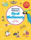 Merriam Webster s First Dictionary