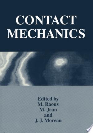 Download Contact Mechanics Free PDF Books - Free PDF