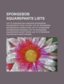 Spongebob Squarepants Lists