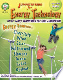 Jumpstarters For Energy Technology Grades 4 8