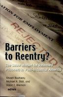 Barriers to Reentry? [Pdf/ePub] eBook