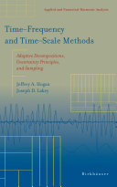 Time   Frequency and Time   Scale Methods