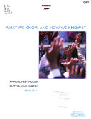 Annual Meeting Program Book PDF