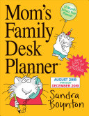 Mom s Family Desk Planner Calendar 2019