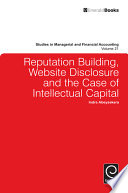Reputation Building  Website Disclosure   The Case of Intellectual Capital