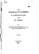 The Maharaja of Cashmere