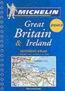 Michelin Great Britain & Ireland Motoring Atlas
