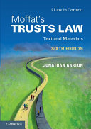 Moffat s Trusts Law 6th Edition