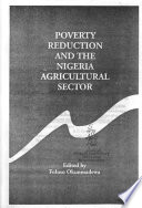 Poverty Reduction and the Nigeria Agricultural Sector