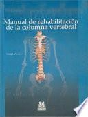 MANUAL DE REHABILITACIÓN DE LA COLUMNA VERTEBRAL