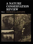 A Nature Conservation Review: Volume 1