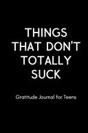 Things That Don t Totally Suck