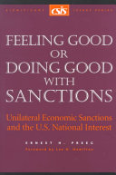 Feeling Good Or Doing Good with Sanctions