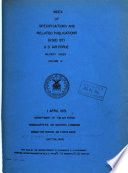 Index Of Specifications And Related Publications Used By U S Air Force Military Index