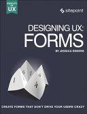 Designing UX  Forms