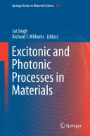 Excitonic and Photonic Processes in Materials Pdf/ePub eBook