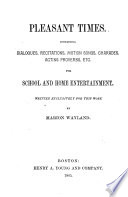 Pleasant Times Book