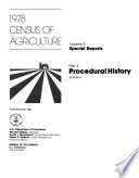 1978 Census of Agriculture