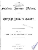 Saddlers  Harness Makers  Carriage Builders  Gazette