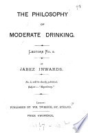 The philosophy of moderate drinking