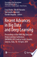 Recent Advances in Big Data and Deep Learning