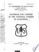 Handbook for campers in the national forests in California