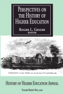 Perspectives History Higher Education V 25 2006 Pdf/ePub eBook