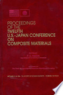 Proceedings Of The Twelfth U S Japan Conference On Composite Materials Book PDF