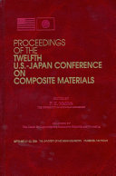 Proceedings of the Twelfth U.S.-Japan Conference on Composite Materials
