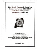 The Draft National Strategic Framework For Hiv Aids Activities In Uganda 2000 1 2005 6
