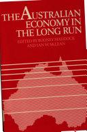 The Australian Economy in the Long Run