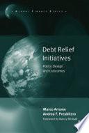 Debt Relief Initiatives