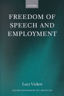 Freedom of Speech and Employment