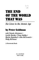 The End Of The World That Was Book PDF