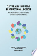 Culturally Inclusive Instructional Design
