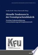 Aktuelle Tendenzen in der Fremdsprachendidaktik