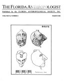 The Florida Anthropologist Book