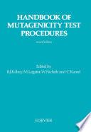 Handbook of Mutagenicity Test Procedures Book