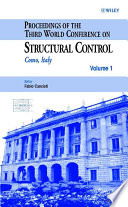 Proceedings of the Third World Conference on Structural Control
