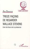Pdf TREIZE FAÇONS DE REGARDER WALLACE STEVENS Telecharger