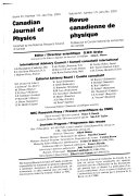 Canadian Journal Of Physics Book PDF