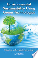 Environmental Sustainability Using Green Technologies Book PDF