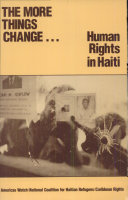The More Things Change-- Human Rights in Haiti