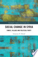 Social Change in Syria
