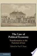 The Law of Political Economy Book