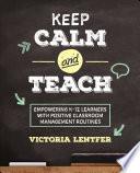 Keep CALM and Teach Book