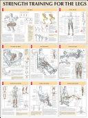 Strength Training Anatomy Legs Poster
