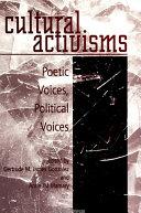 Cultural Activisms Pdf