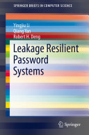Pdf Leakage Resilient Password Systems Telecharger